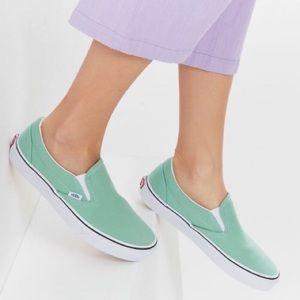 Vans Classic Slip-On Neptune Green
